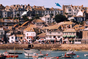 Our properties seen from the harbour